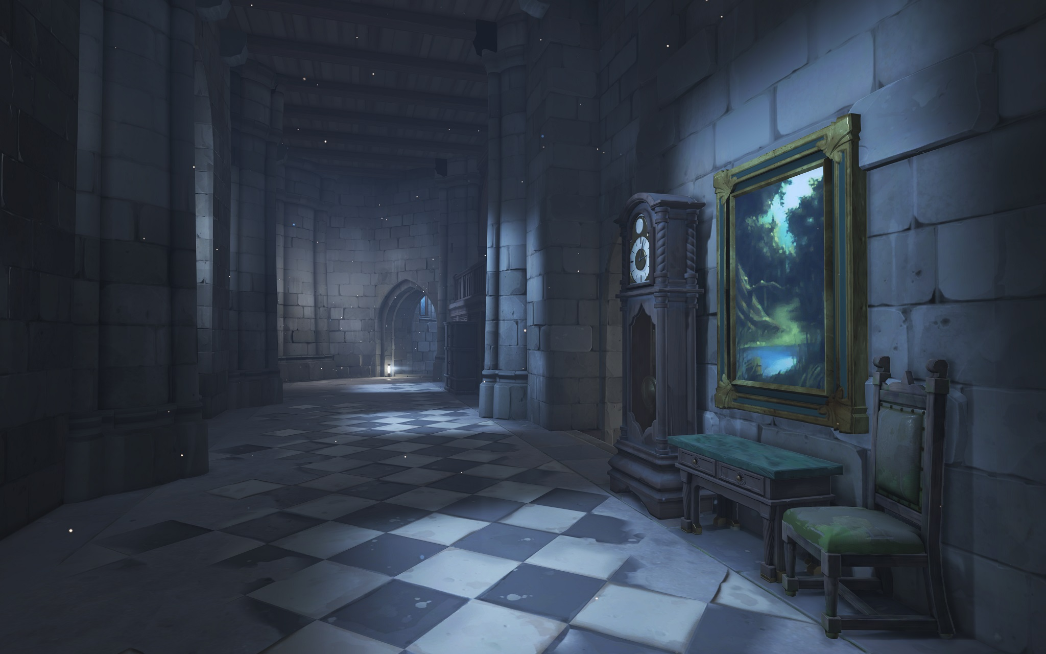 Nová mapa pro Overwatch nás zavede do hradu a přilehlého městečka v Německu 128673