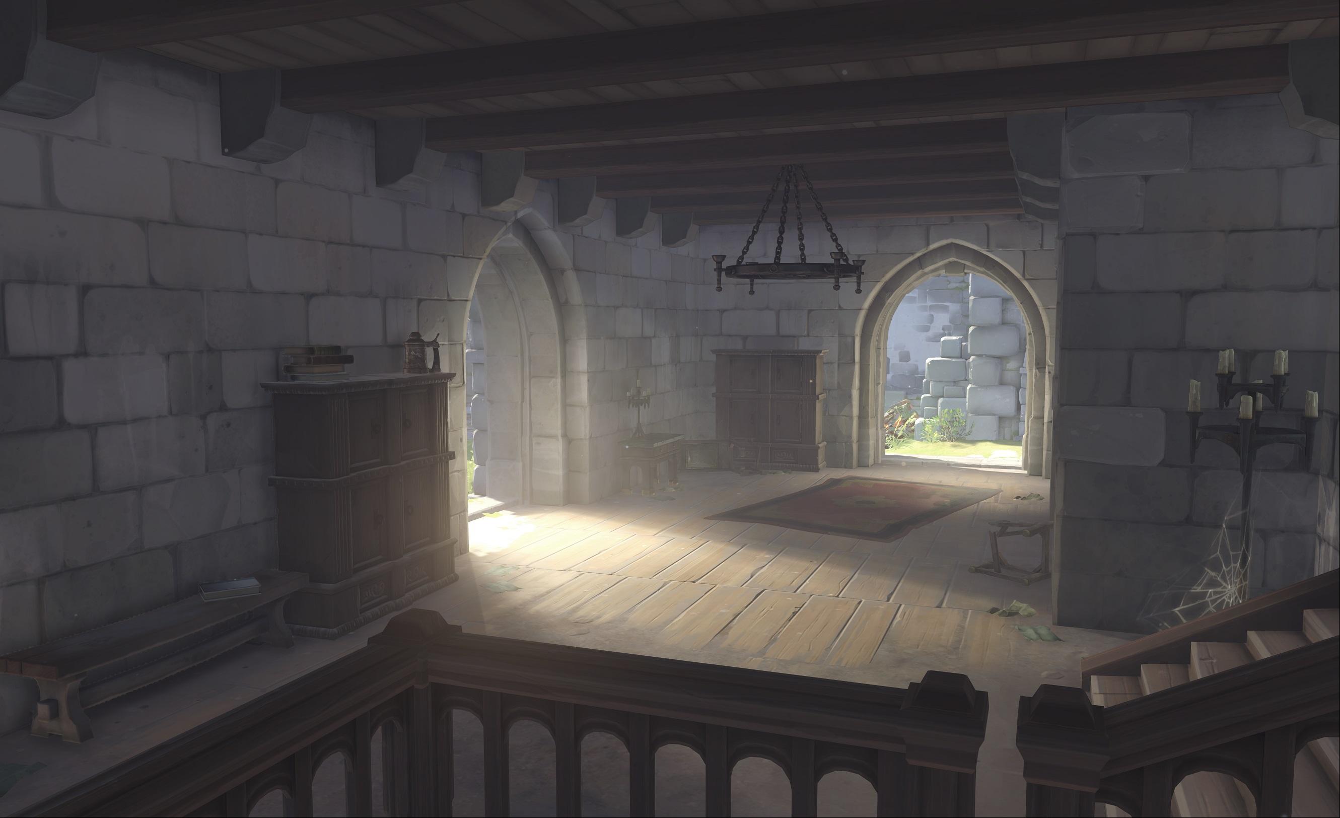 Nová mapa pro Overwatch nás zavede do hradu a přilehlého městečka v Německu 128674