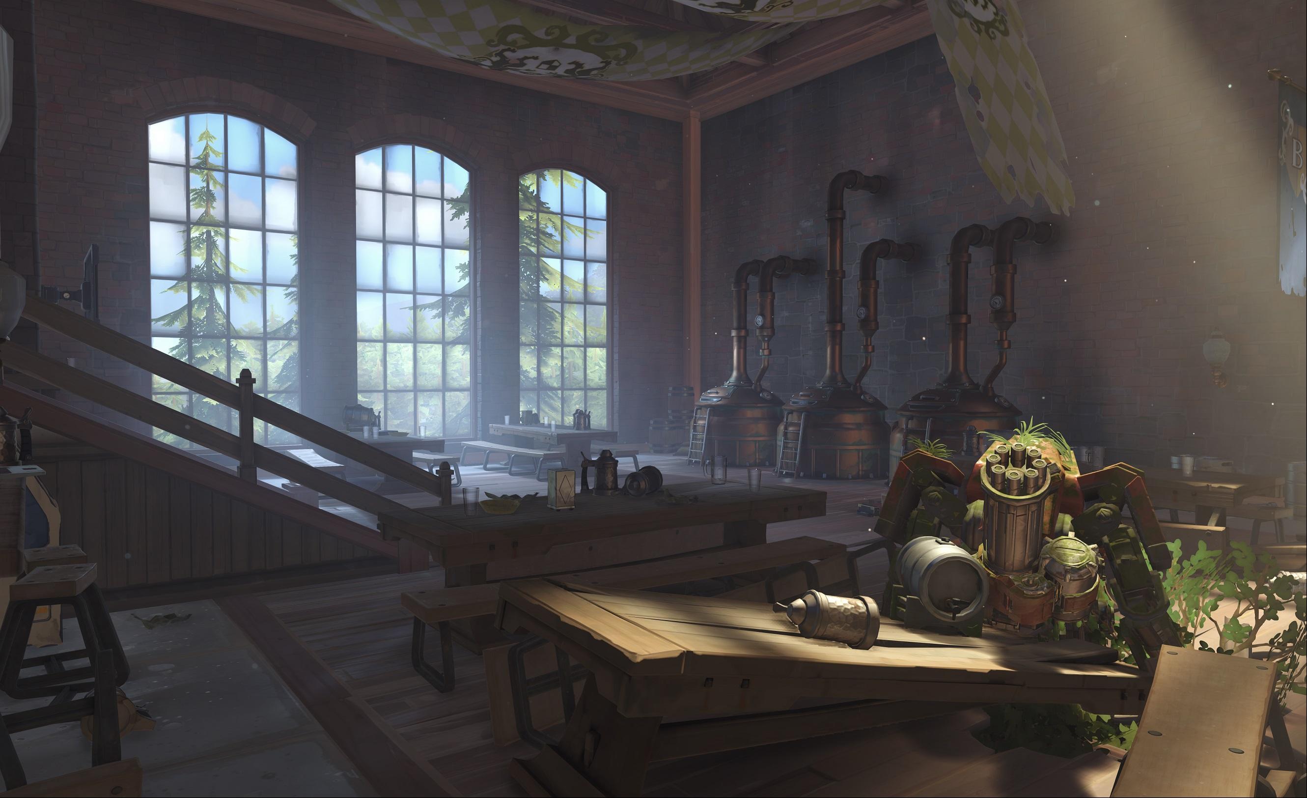 Nová mapa pro Overwatch nás zavede do hradu a přilehlého městečka v Německu 128675