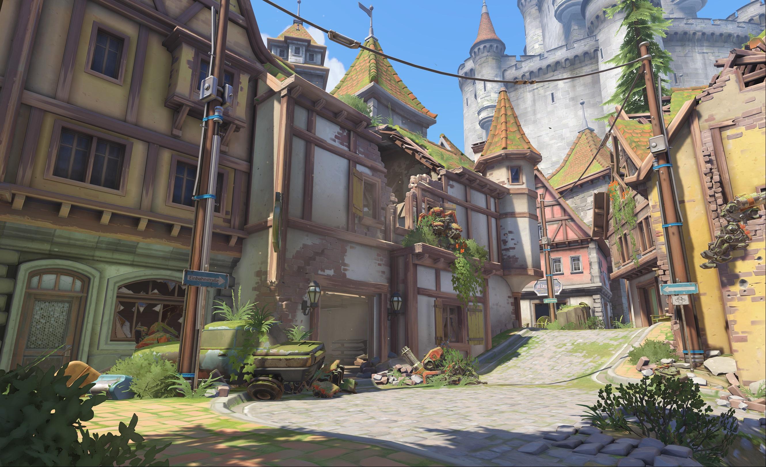 Nová mapa pro Overwatch nás zavede do hradu a přilehlého městečka v Německu 128676