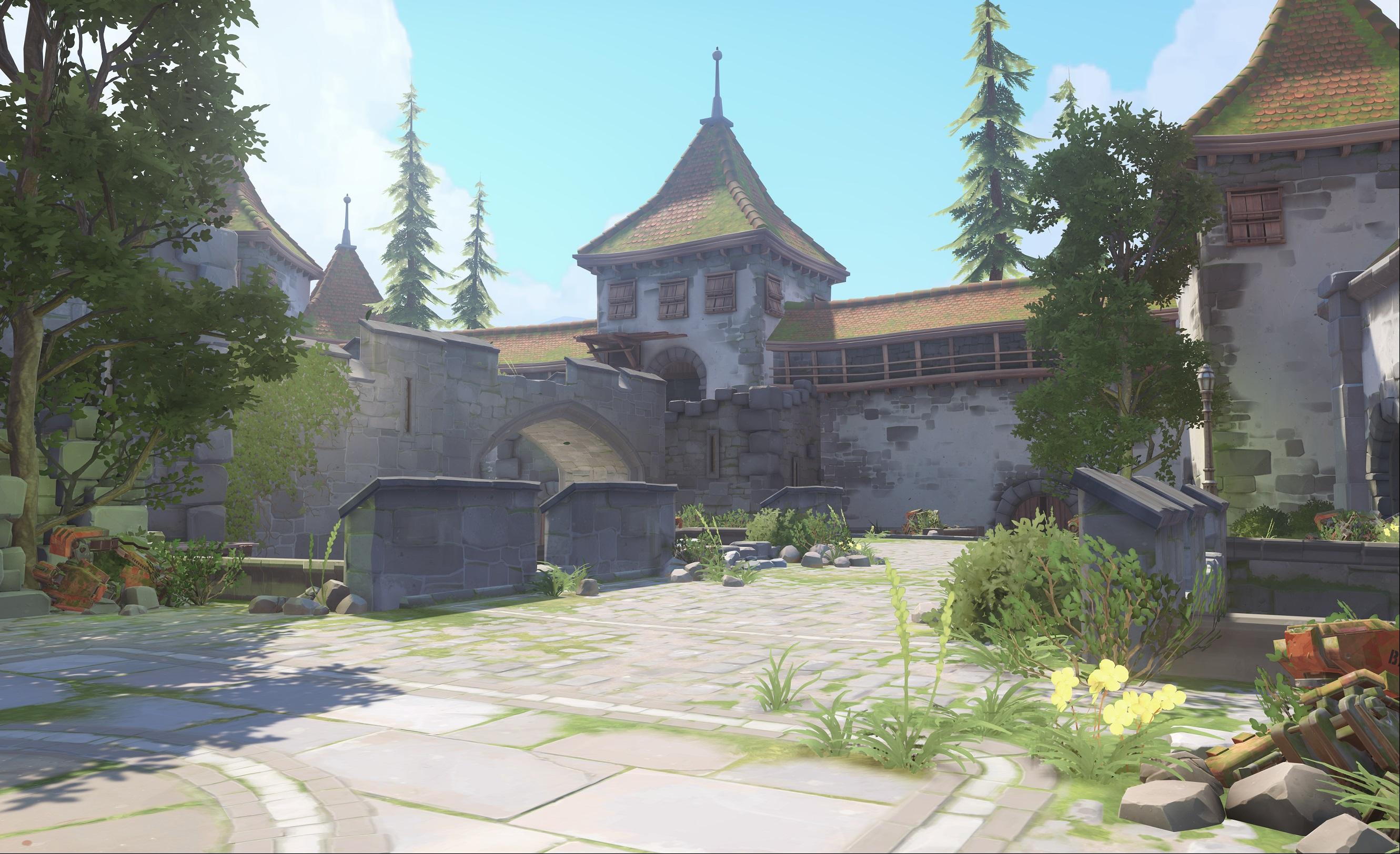 Nová mapa pro Overwatch nás zavede do hradu a přilehlého městečka v Německu 128678