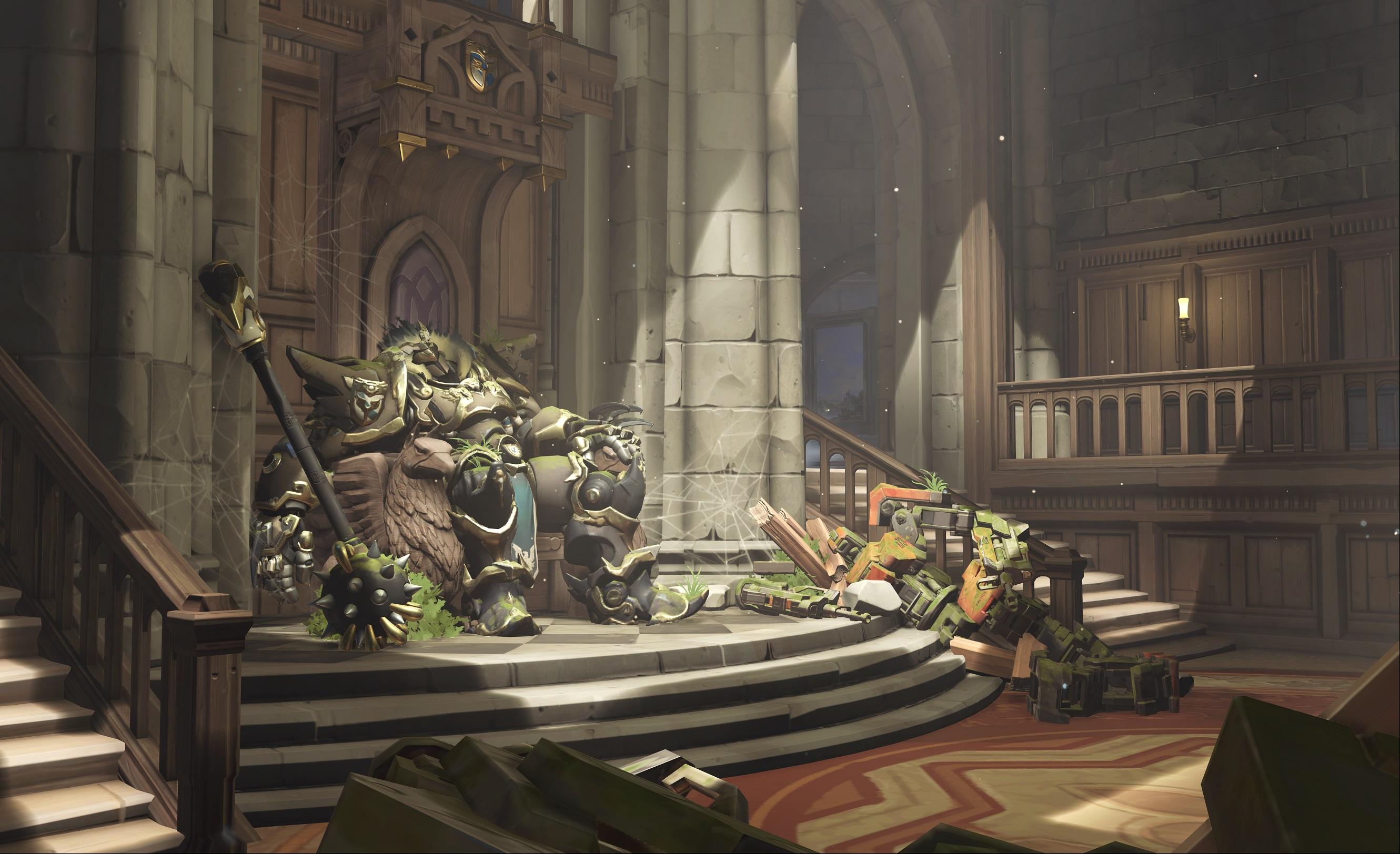 Nová mapa pro Overwatch nás zavede do hradu a přilehlého městečka v Německu 128679