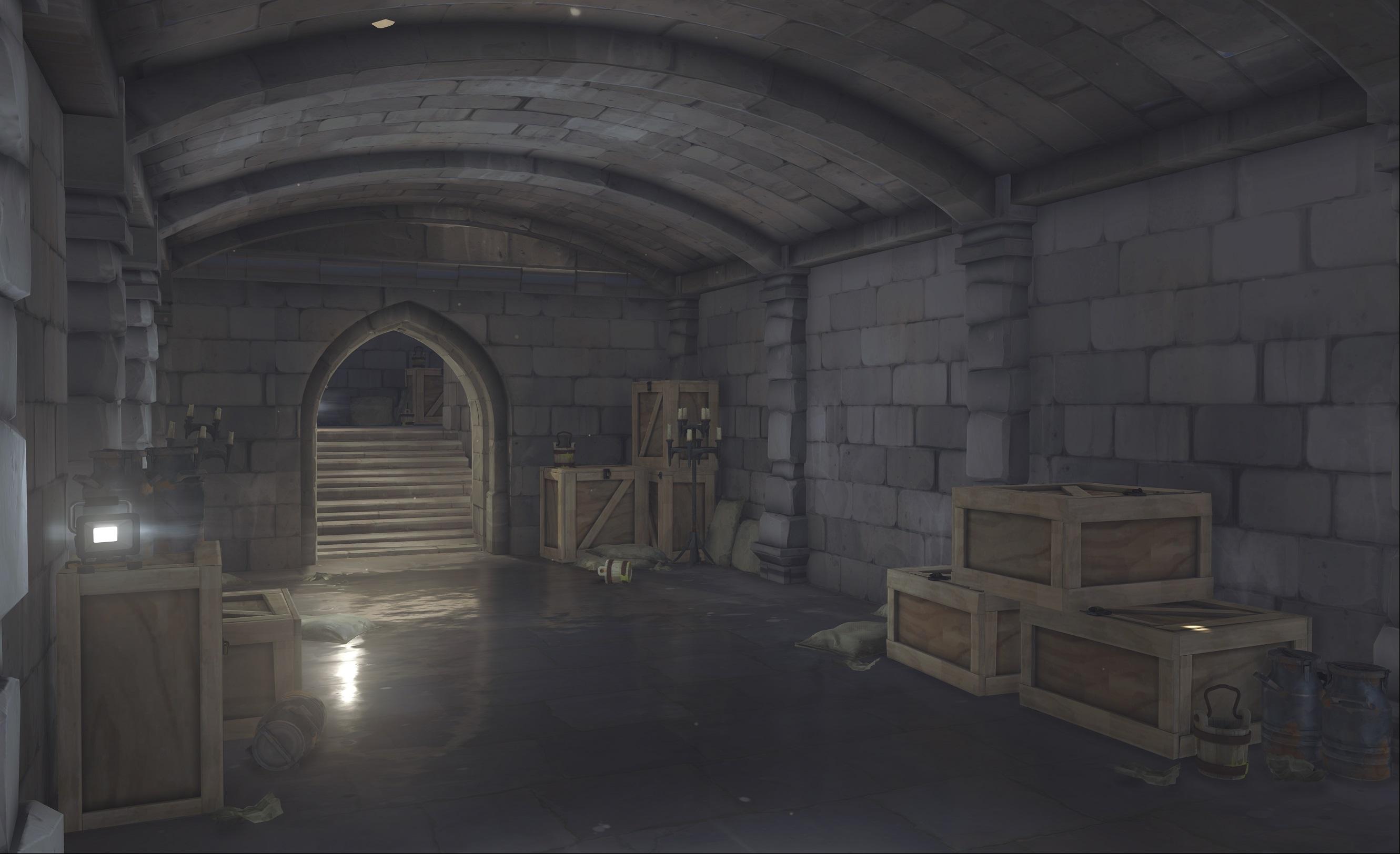 Nová mapa pro Overwatch nás zavede do hradu a přilehlého městečka v Německu 128682