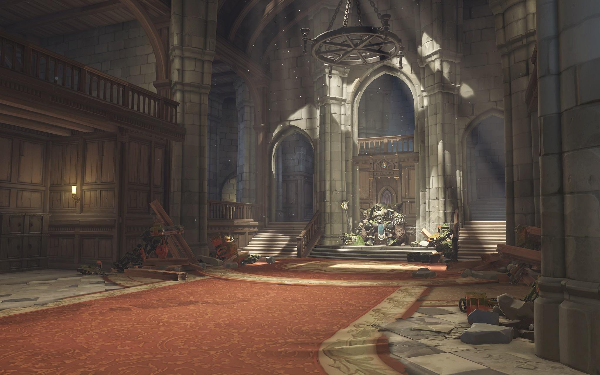 Nová mapa pro Overwatch nás zavede do hradu a přilehlého městečka v Německu 128684