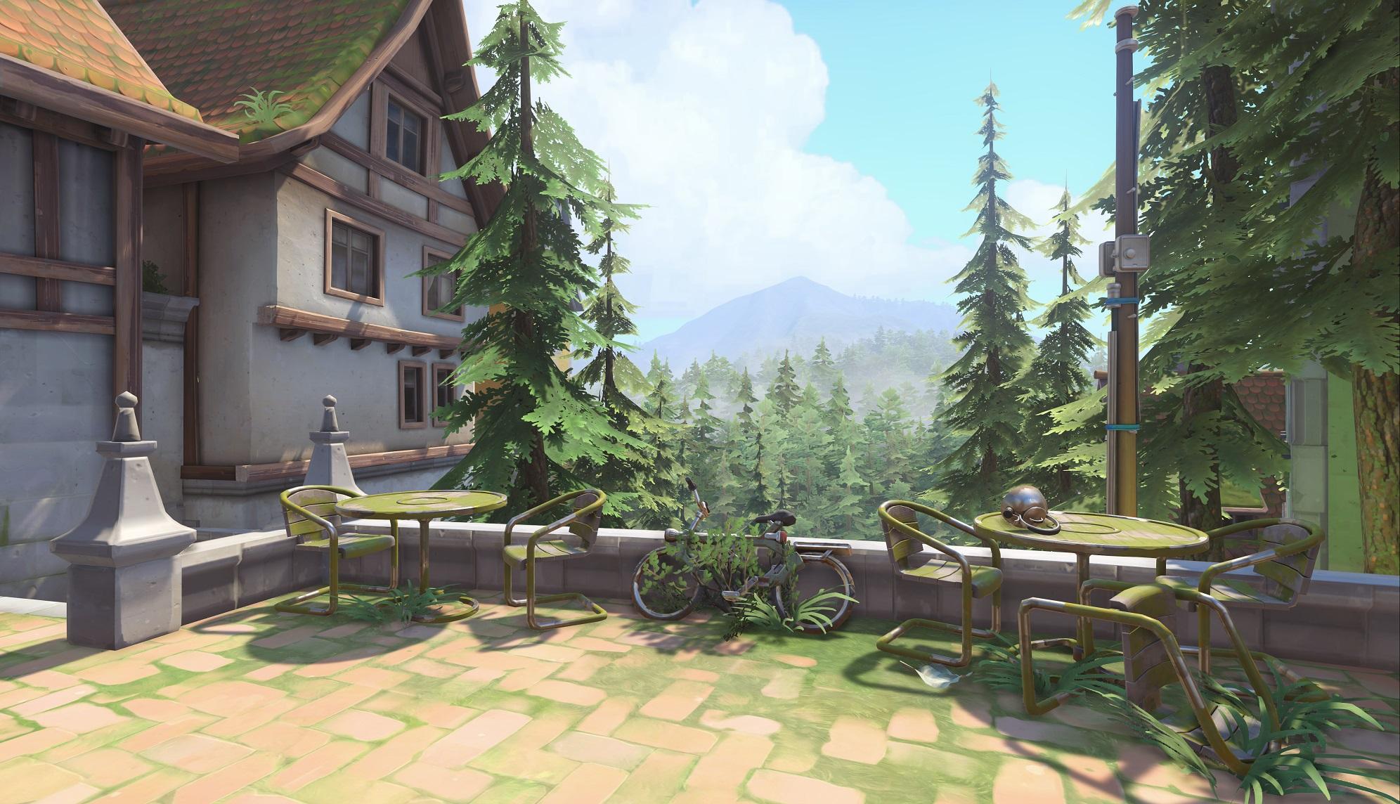 Nová mapa pro Overwatch nás zavede do hradu a přilehlého městečka v Německu 128685