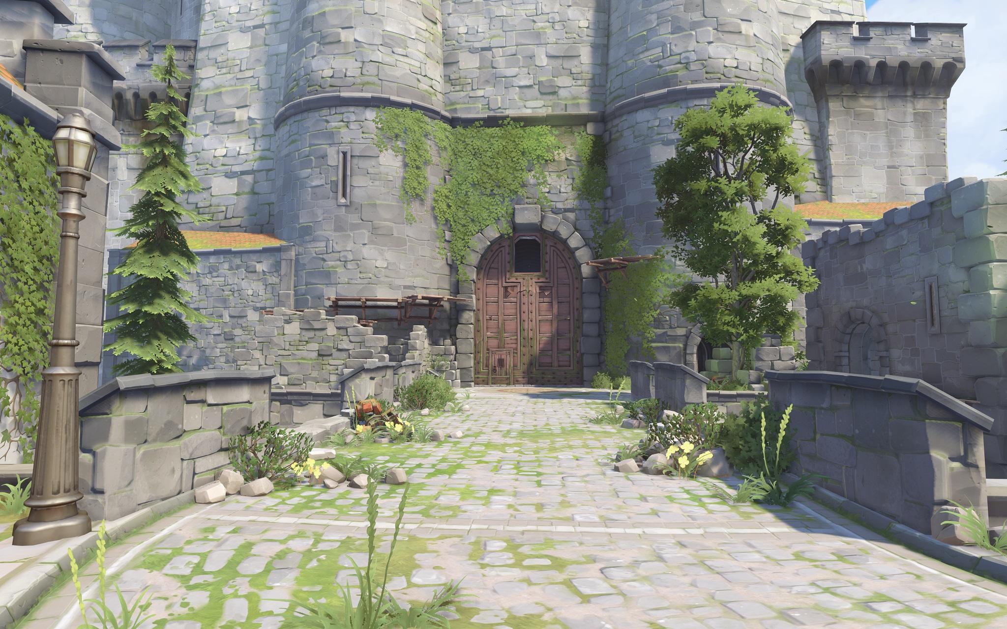 Nová mapa pro Overwatch nás zavede do hradu a přilehlého městečka v Německu 128687