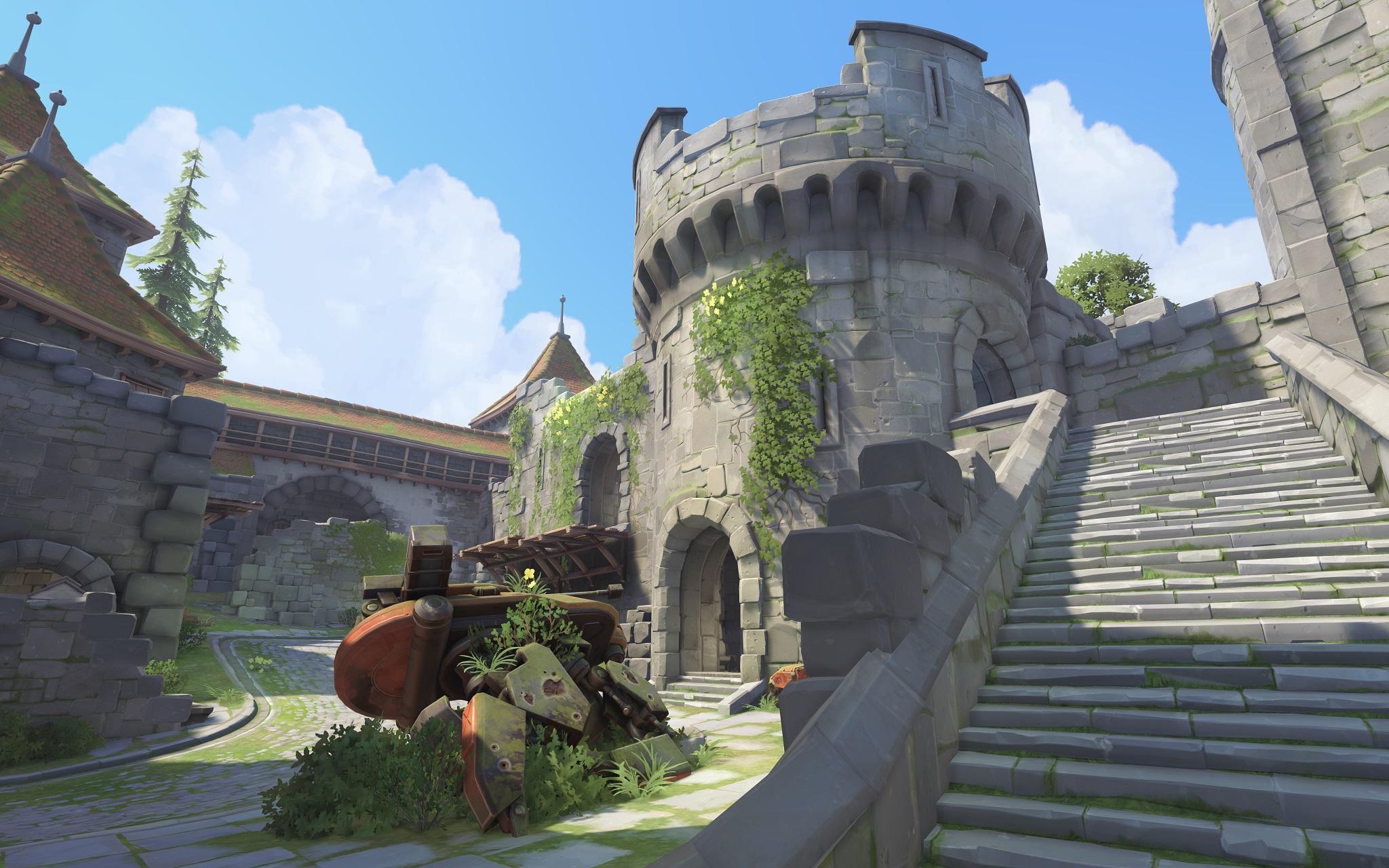 Nová mapa pro Overwatch nás zavede do hradu a přilehlého městečka v Německu 128688