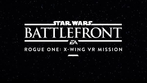 X-Wing VR Mission pro PS4 verzi Battlefrontu bude provázaná s filmem Rogue One 128689