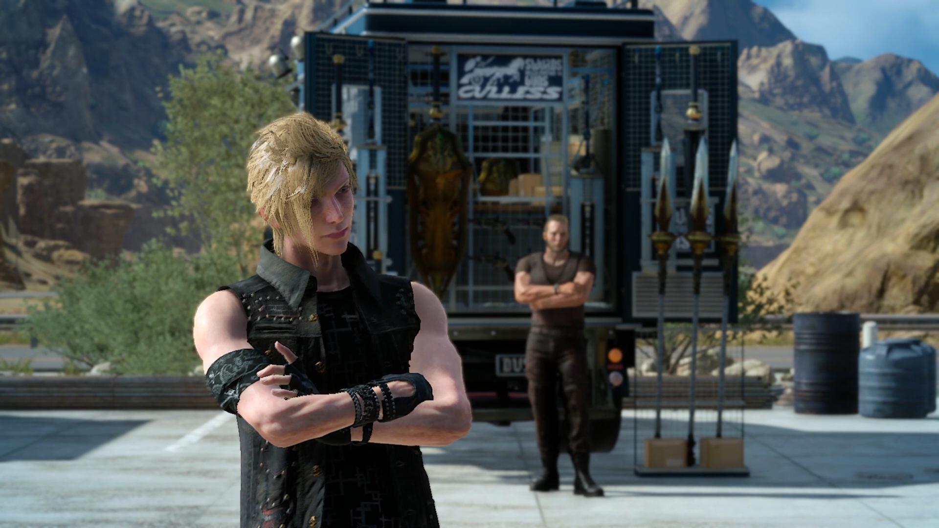 Final Fantasy XV na obrázcích z Gamescomu 2016 128723