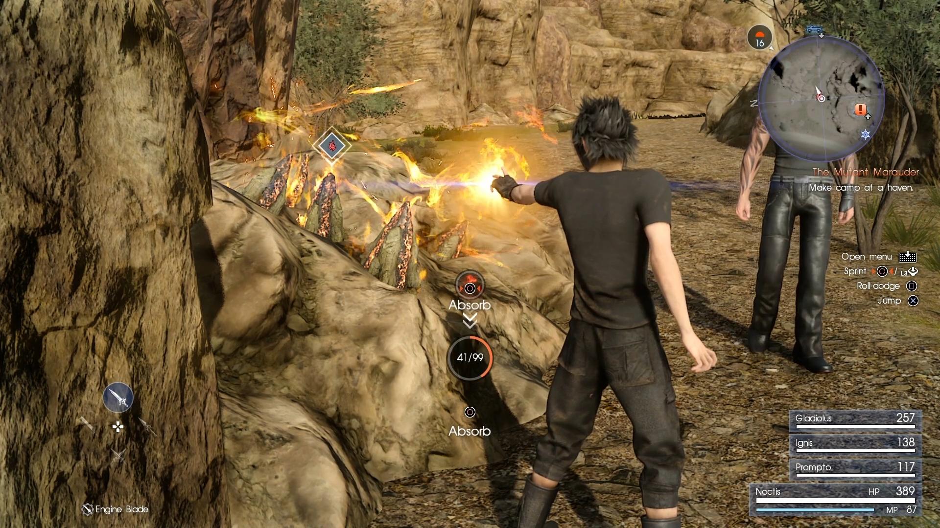 Final Fantasy XV na obrázcích z Gamescomu 2016 128728