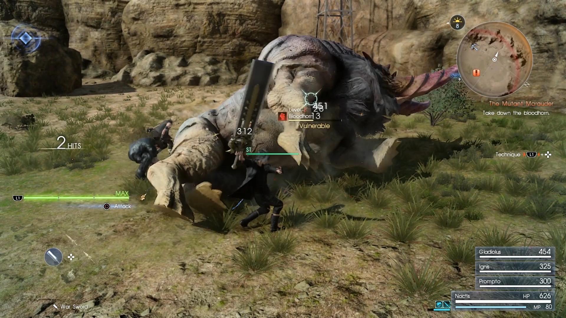 Final Fantasy XV na obrázcích z Gamescomu 2016 128731