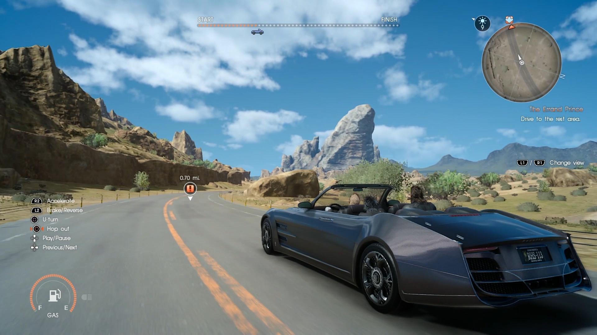 Final Fantasy XV na obrázcích z Gamescomu 2016 128735