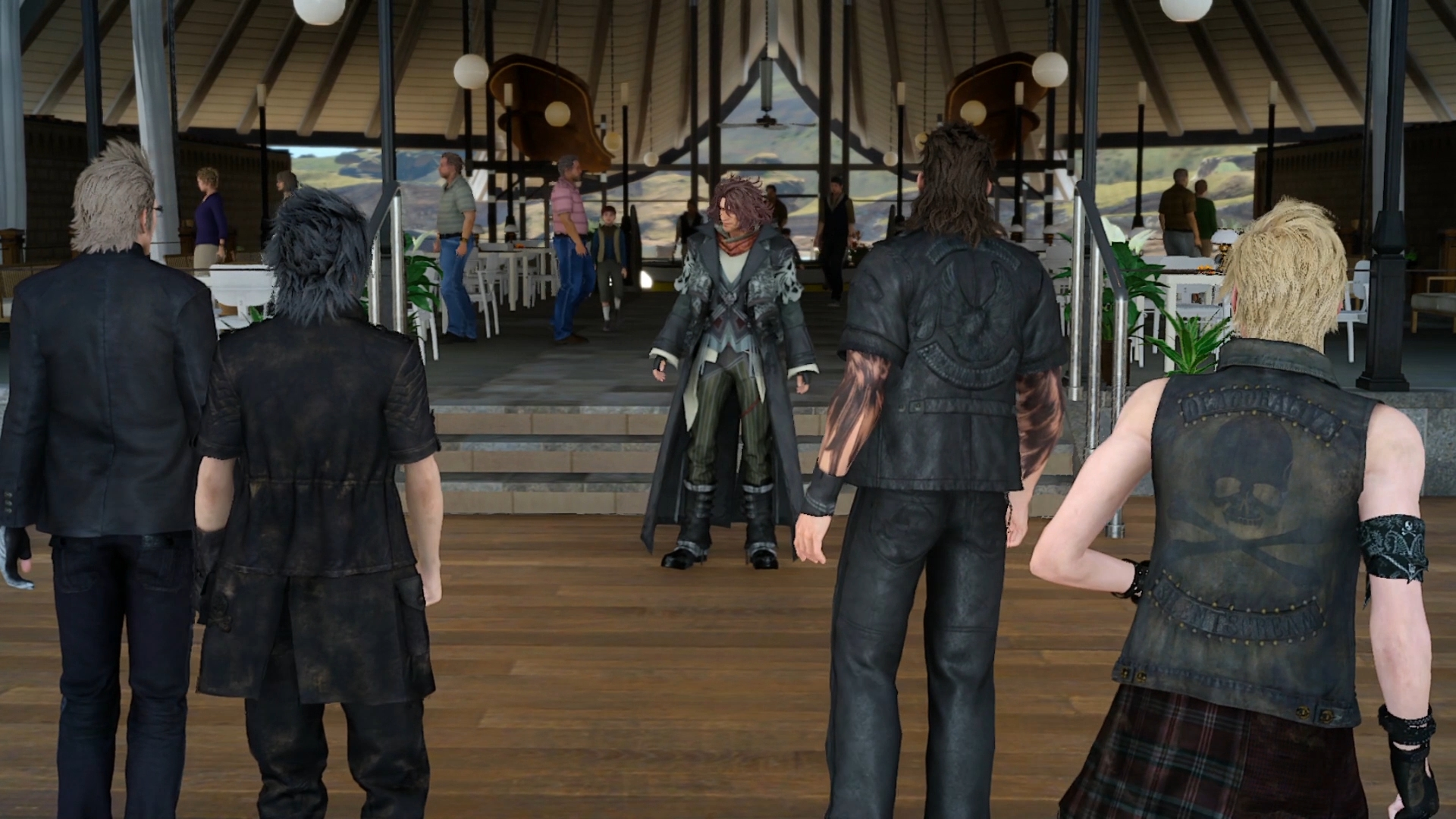 Final Fantasy XV na obrázcích z Gamescomu 2016 128737