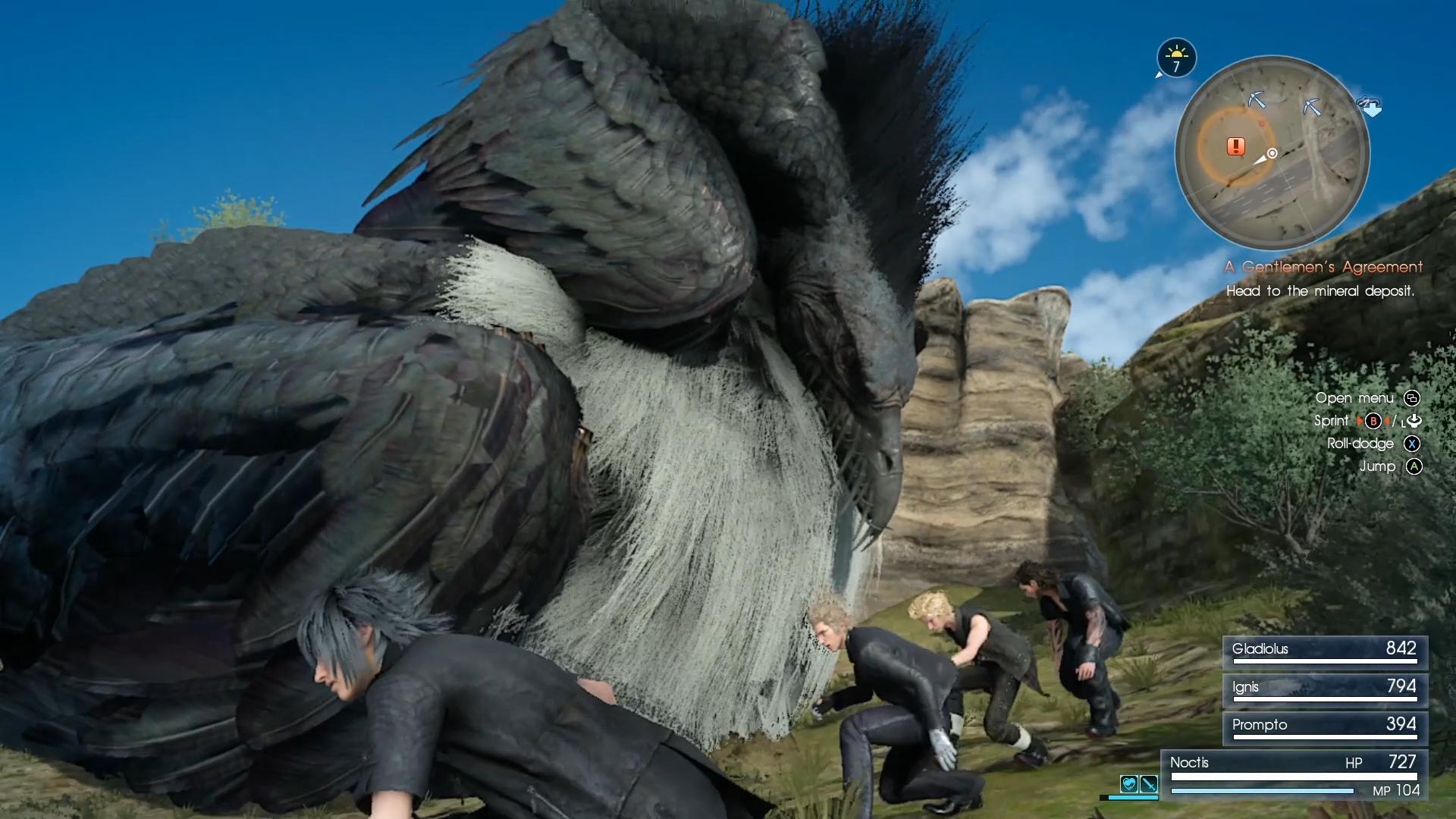 Final Fantasy XV na obrázcích z Gamescomu 2016 128738