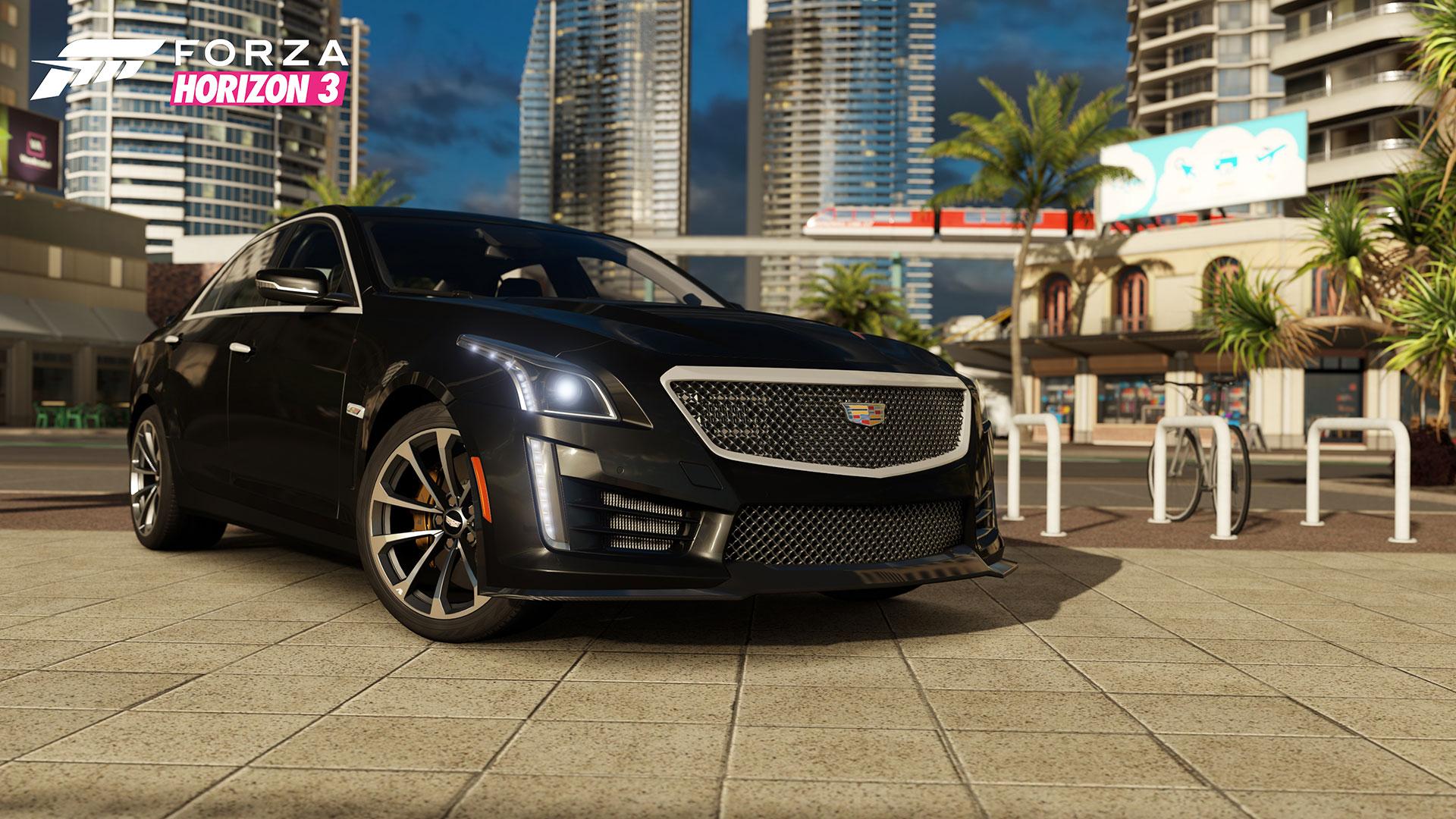 2016 Cadillac CTS-V Sedan a další luxusní vozy ve Forze Horizon 3 128806