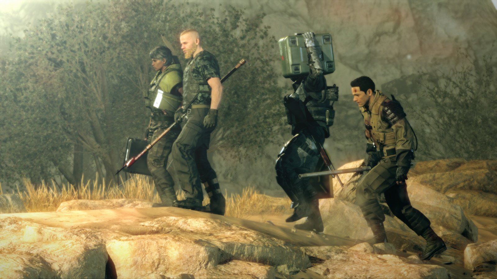Metal Gear Survive bude pořád stealth hrou 128909