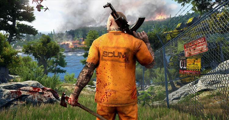 SCUM od autorů Serious Sama a Gas Guzzlers Extreme má za cíl posunout žánr open-world survival her kupředu 129192