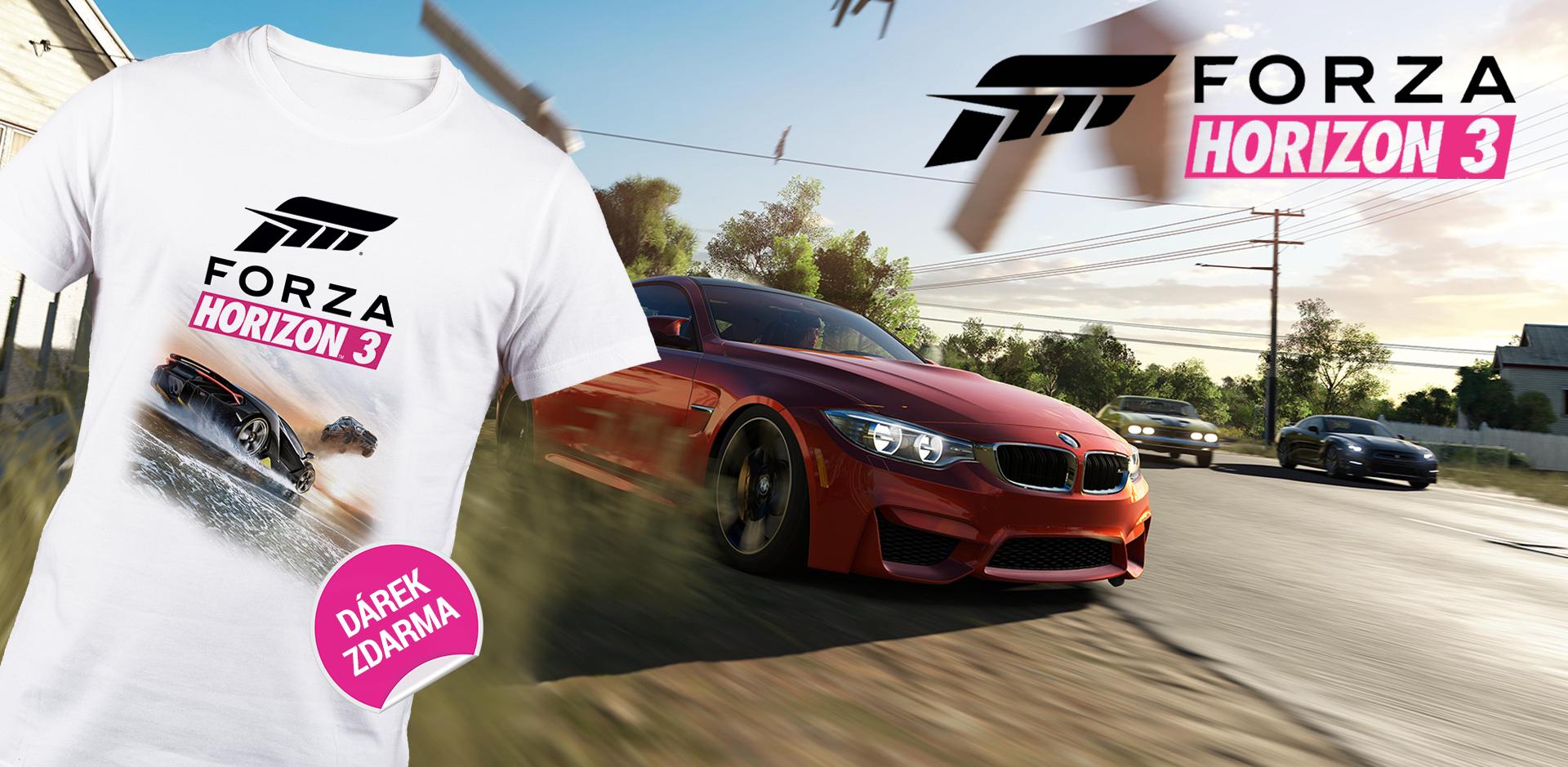 Získejte tričko k závodům Forza Horizon 3 129250