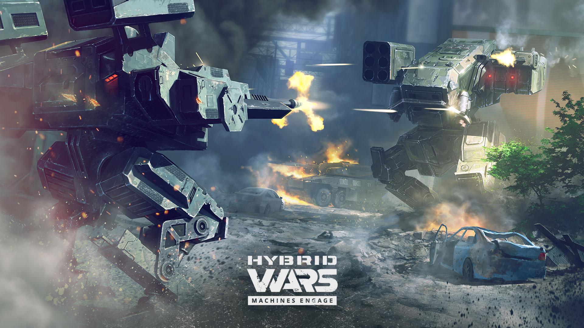 Tvůrci World of Tanks dohlíží na futuristickou akci Hybrid Wars 129342