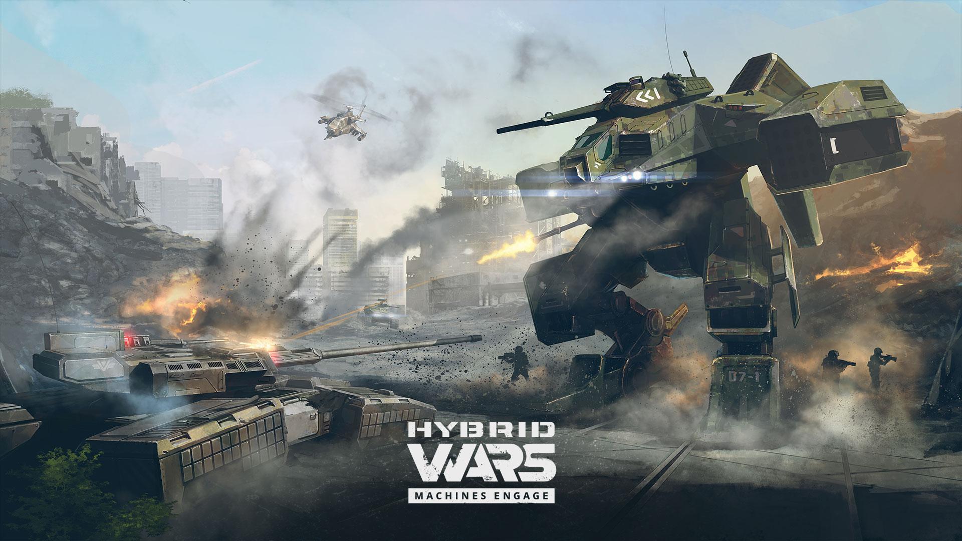 Tvůrci World of Tanks dohlíží na futuristickou akci Hybrid Wars 129343