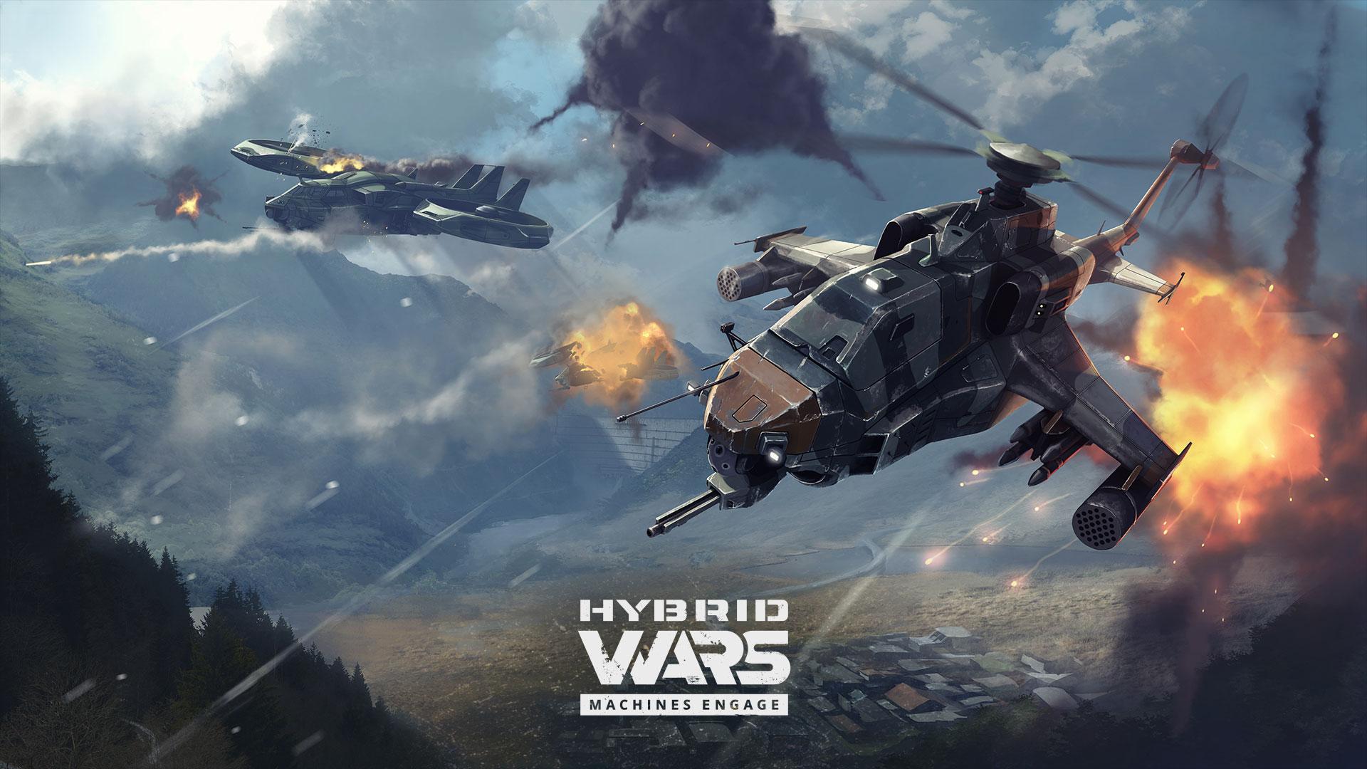 Tvůrci World of Tanks dohlíží na futuristickou akci Hybrid Wars 129344