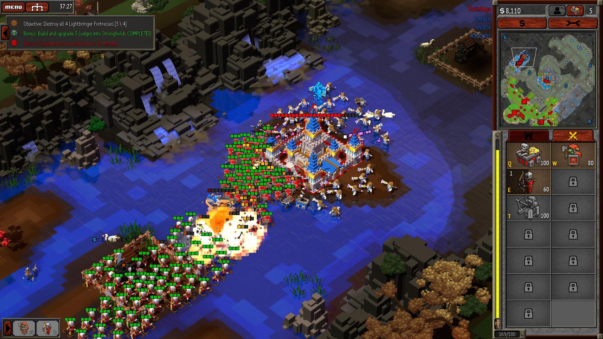 8-Bit Hordes – jednoduché válčení 129363