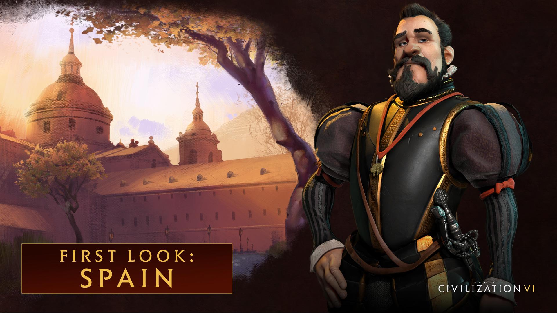 Španělsko bude v šesté Civilizaci vést Filip II. 129400