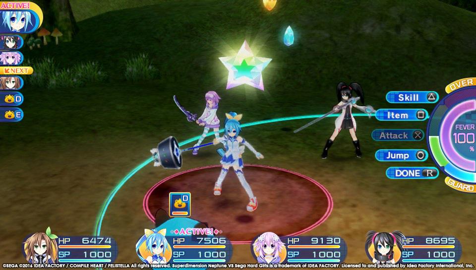 Superdimension Neptune VS Sega Hard Girls startují koncem října 129404