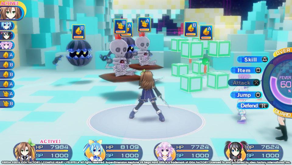 Superdimension Neptune VS Sega Hard Girls startují koncem října 129409