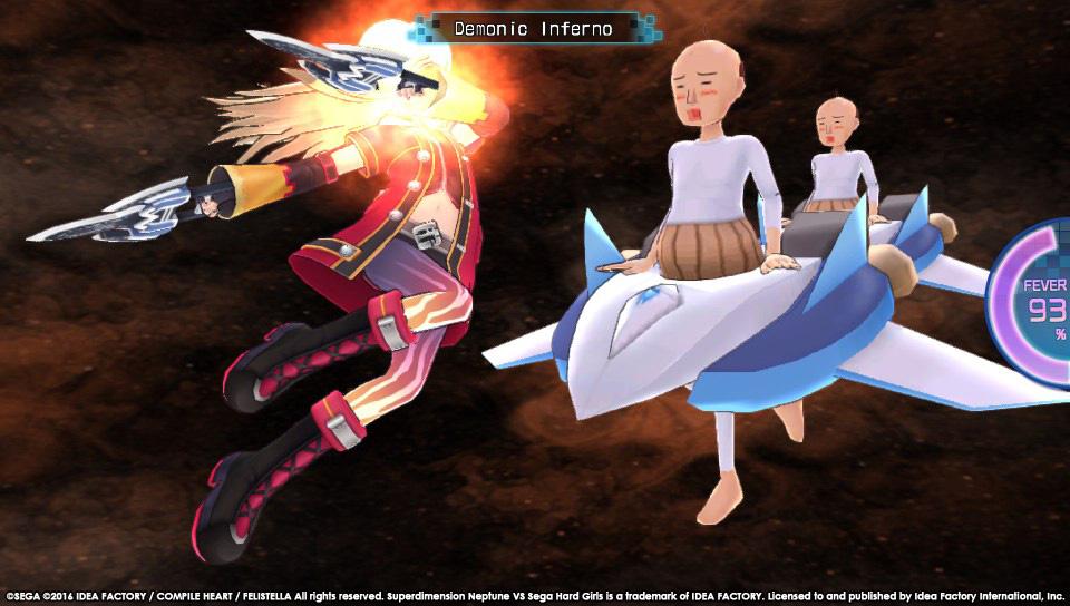 Superdimension Neptune VS Sega Hard Girls startují koncem října 129410