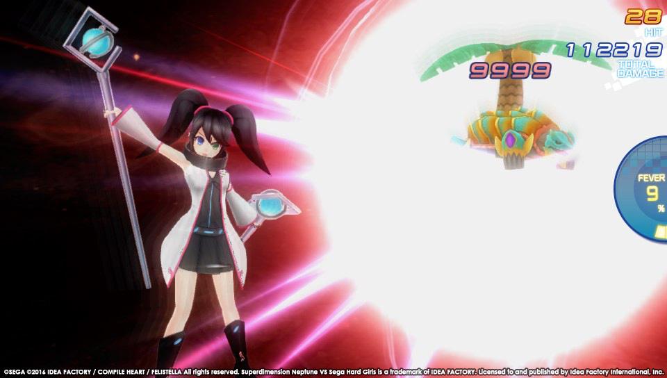 Superdimension Neptune VS Sega Hard Girls startují koncem října 129411