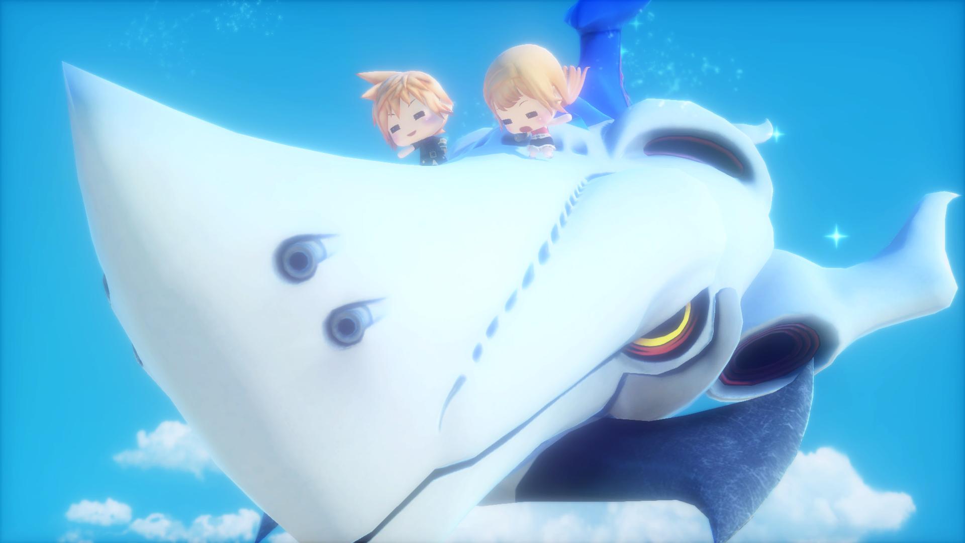 Záplava screenshotů z World of Final Fantasy 129542