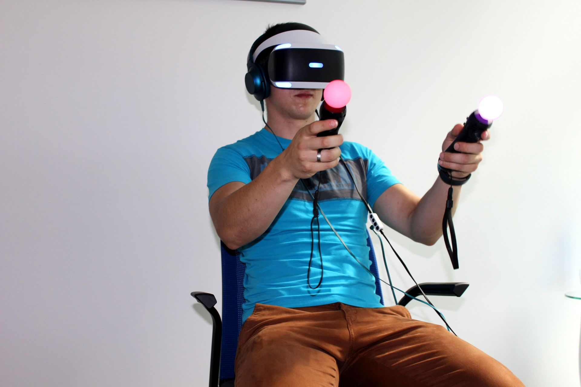 Ve dvou jsme otestovali PlayStation VR 129667