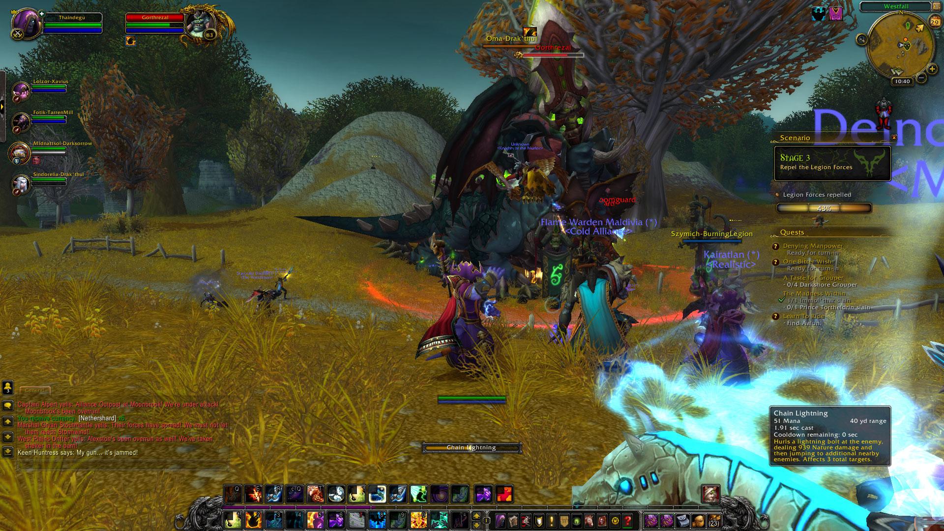 World of Warcraft: Legion fotoseriál - Plamenná legie přichází 129820