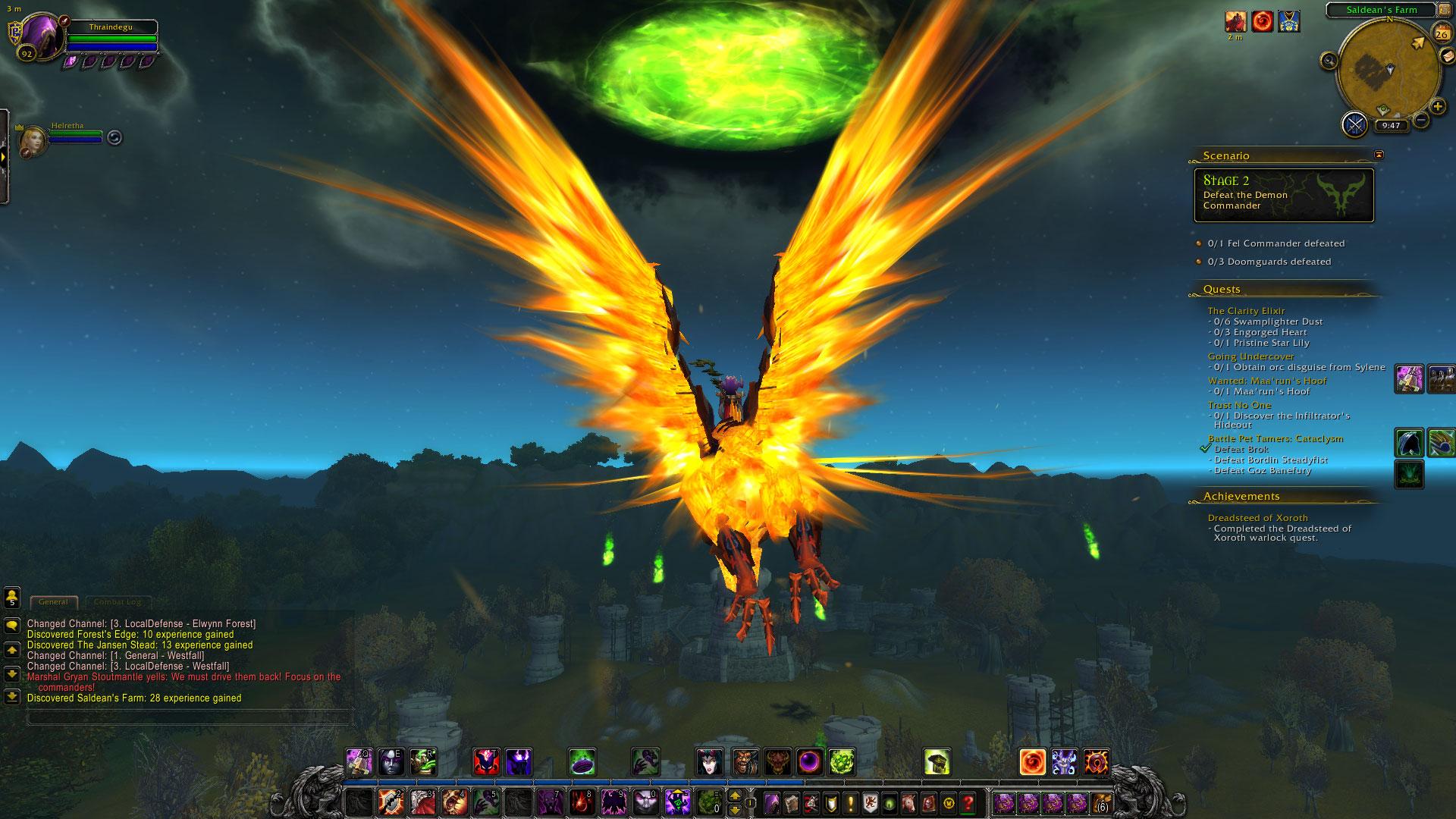 World of Warcraft: Legion fotoseriál - Plamenná legie přichází 129821