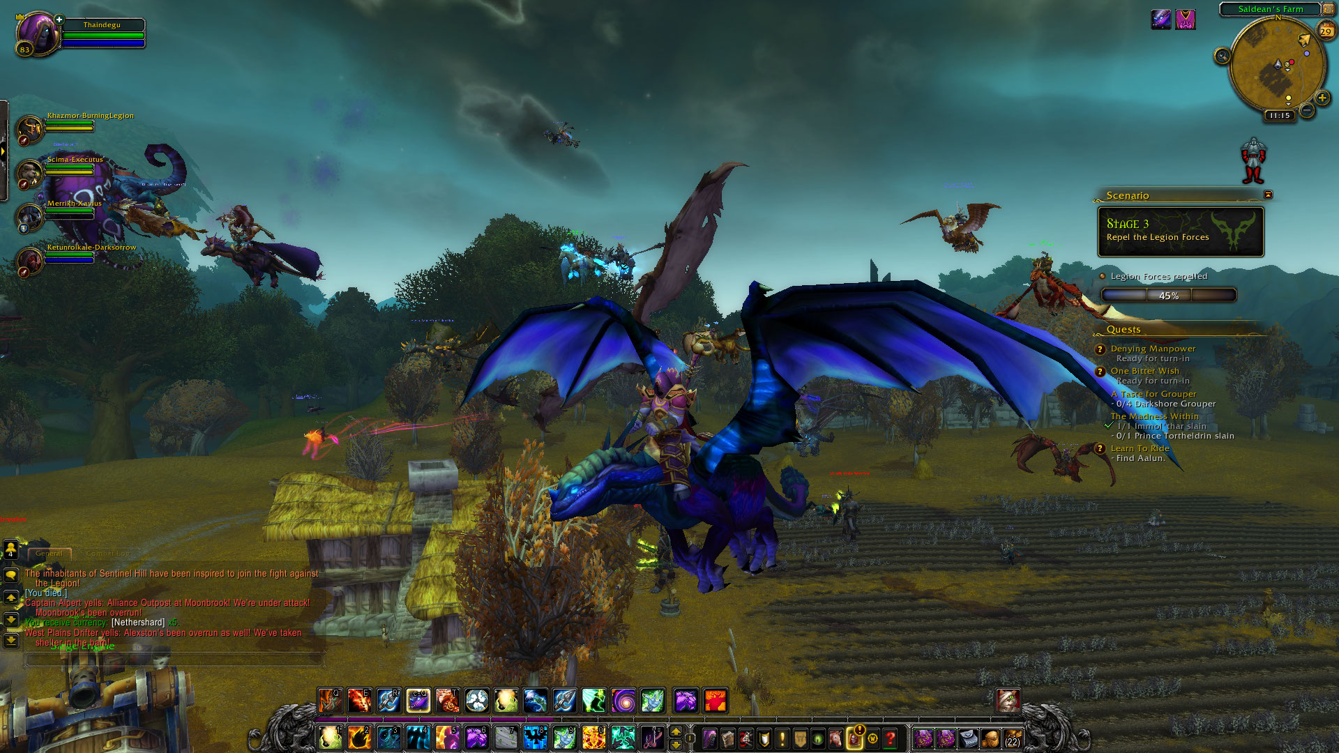 World of Warcraft: Legion fotoseriál - Plamenná legie přichází 129822