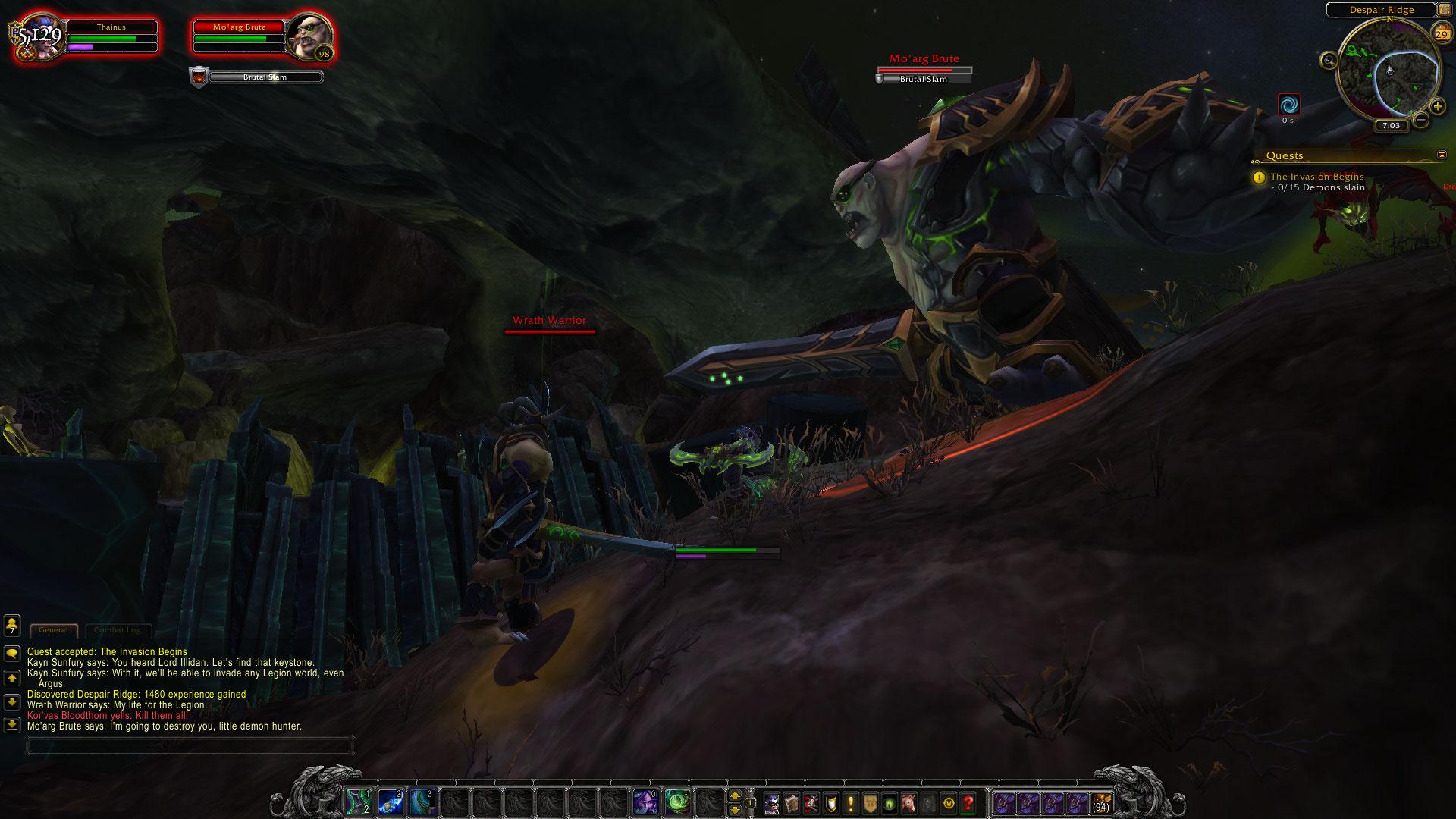 World of Warcraft: Legion fotoseriál - Plamenná legie přichází 129824