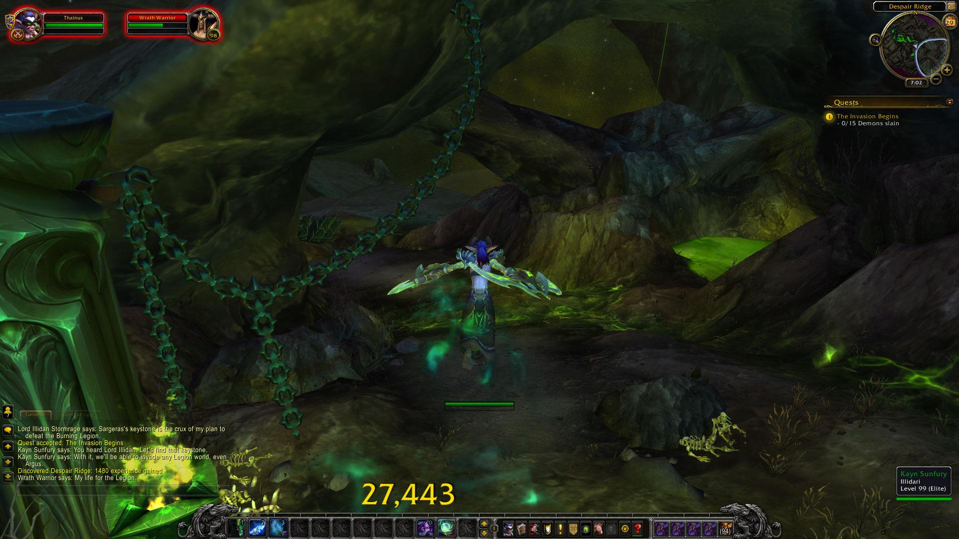 World of Warcraft: Legion fotoseriál - Plamenná legie přichází 129825