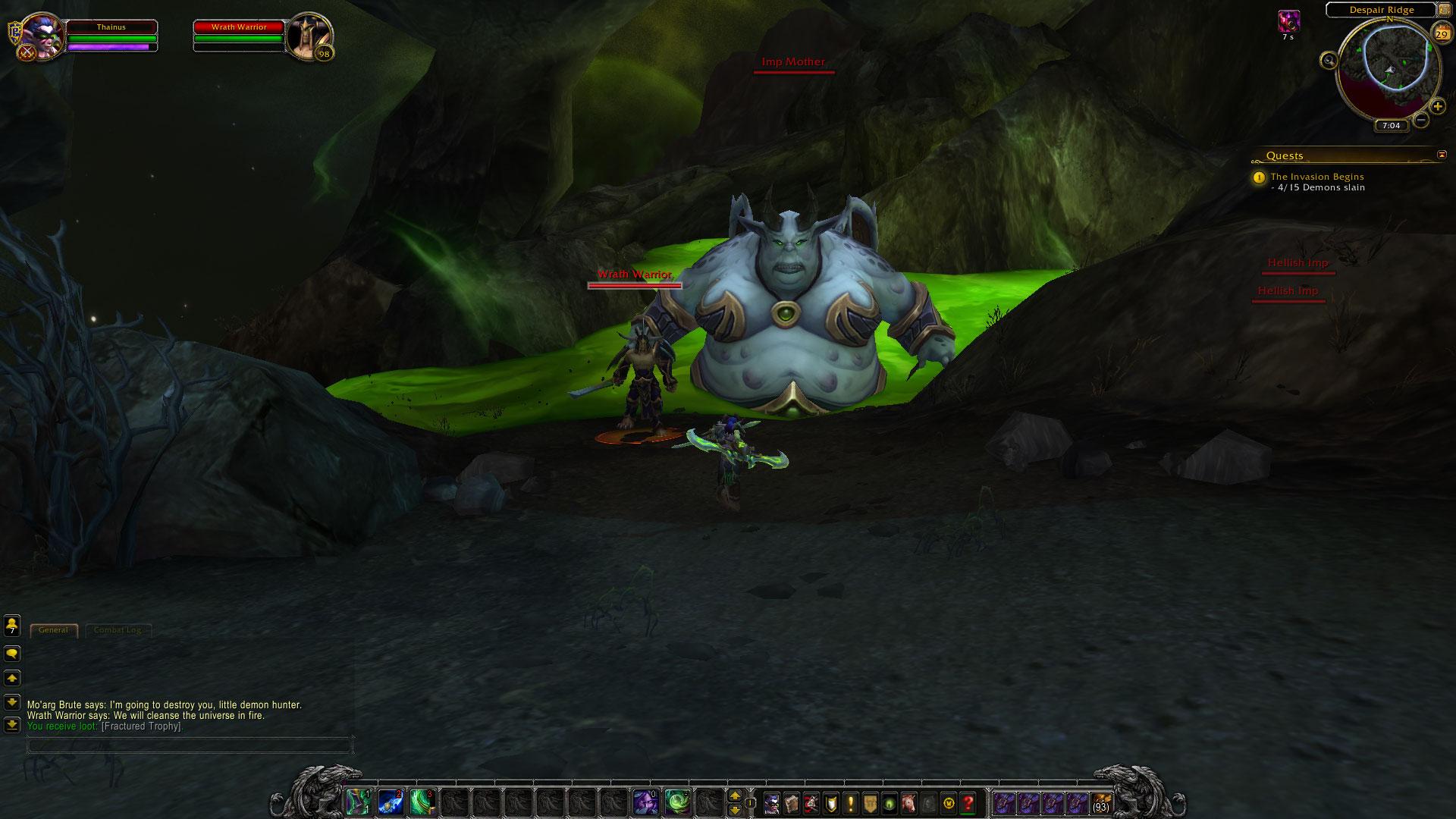 World of Warcraft: Legion fotoseriál - Plamenná legie přichází 129826