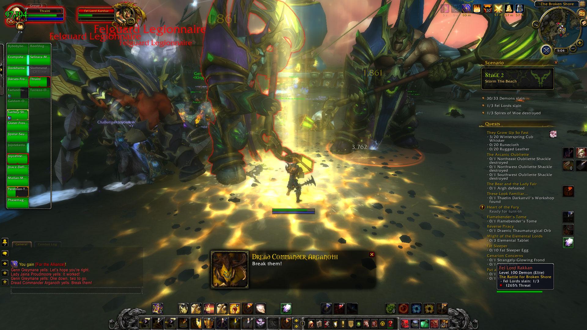 World of Warcraft: Legion fotoseriál - Plamenná legie přichází 129829