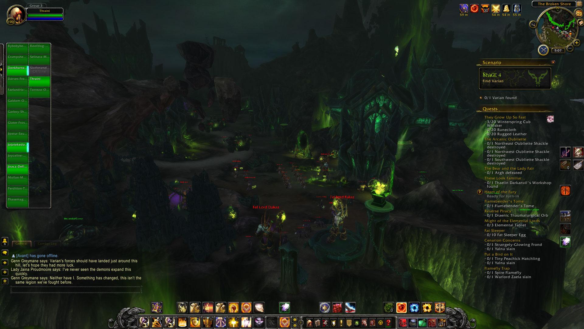 World of Warcraft: Legion fotoseriál - Plamenná legie přichází 129832