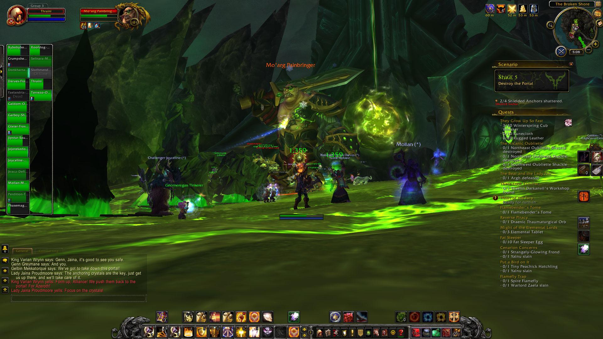 World of Warcraft: Legion fotoseriál - Plamenná legie přichází 129833