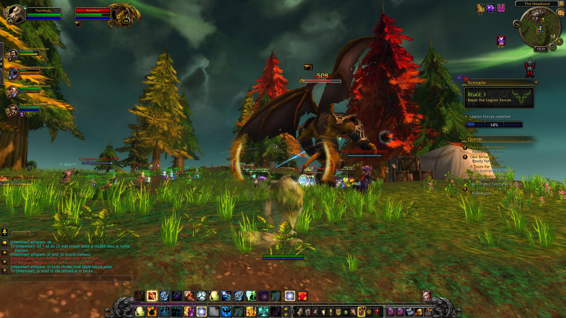 World of Warcraft: Legion fotoseriál - Plamenná legie přichází 129834