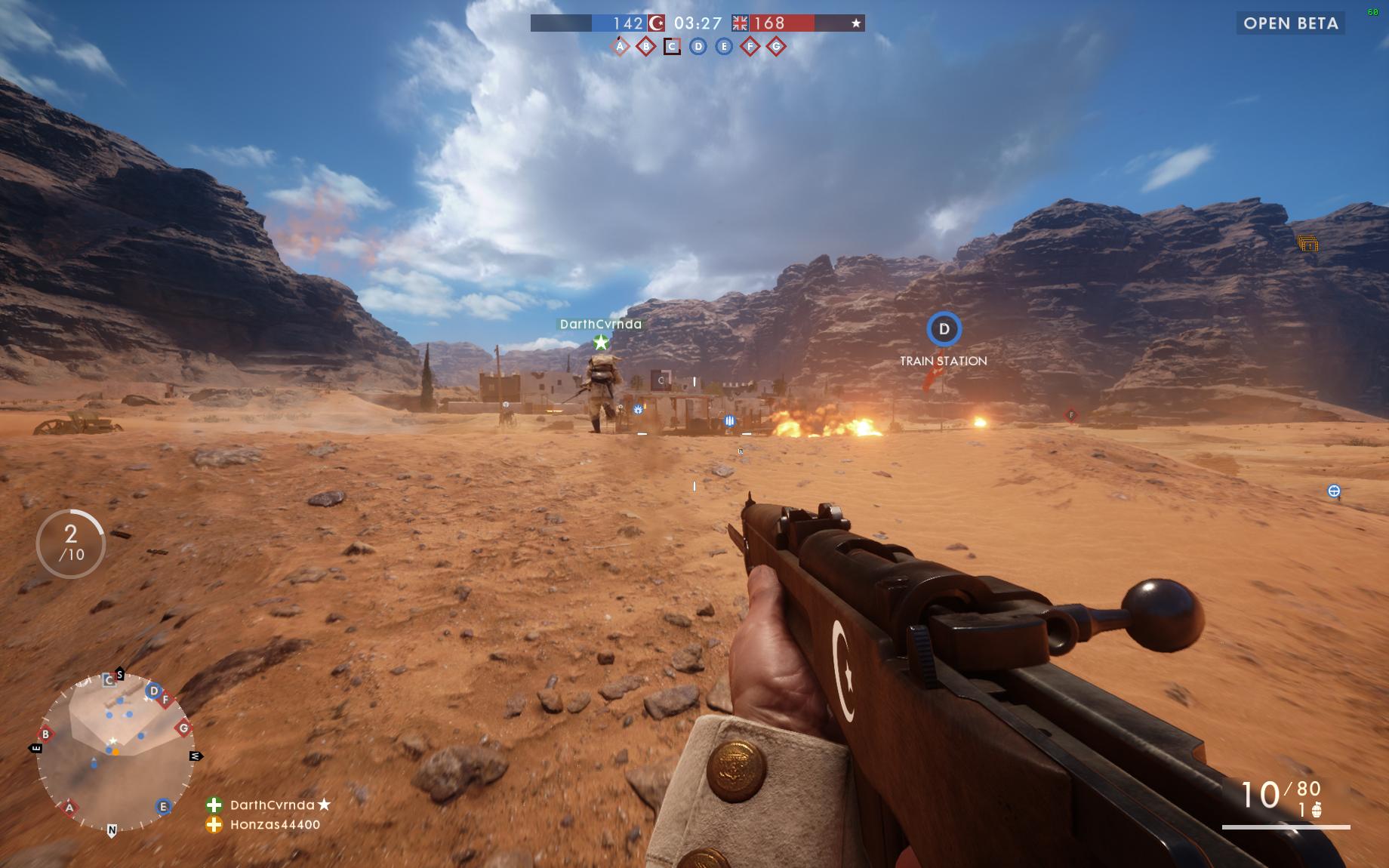 Dojmy z hraní otevřené bety Battlefield 1 129849