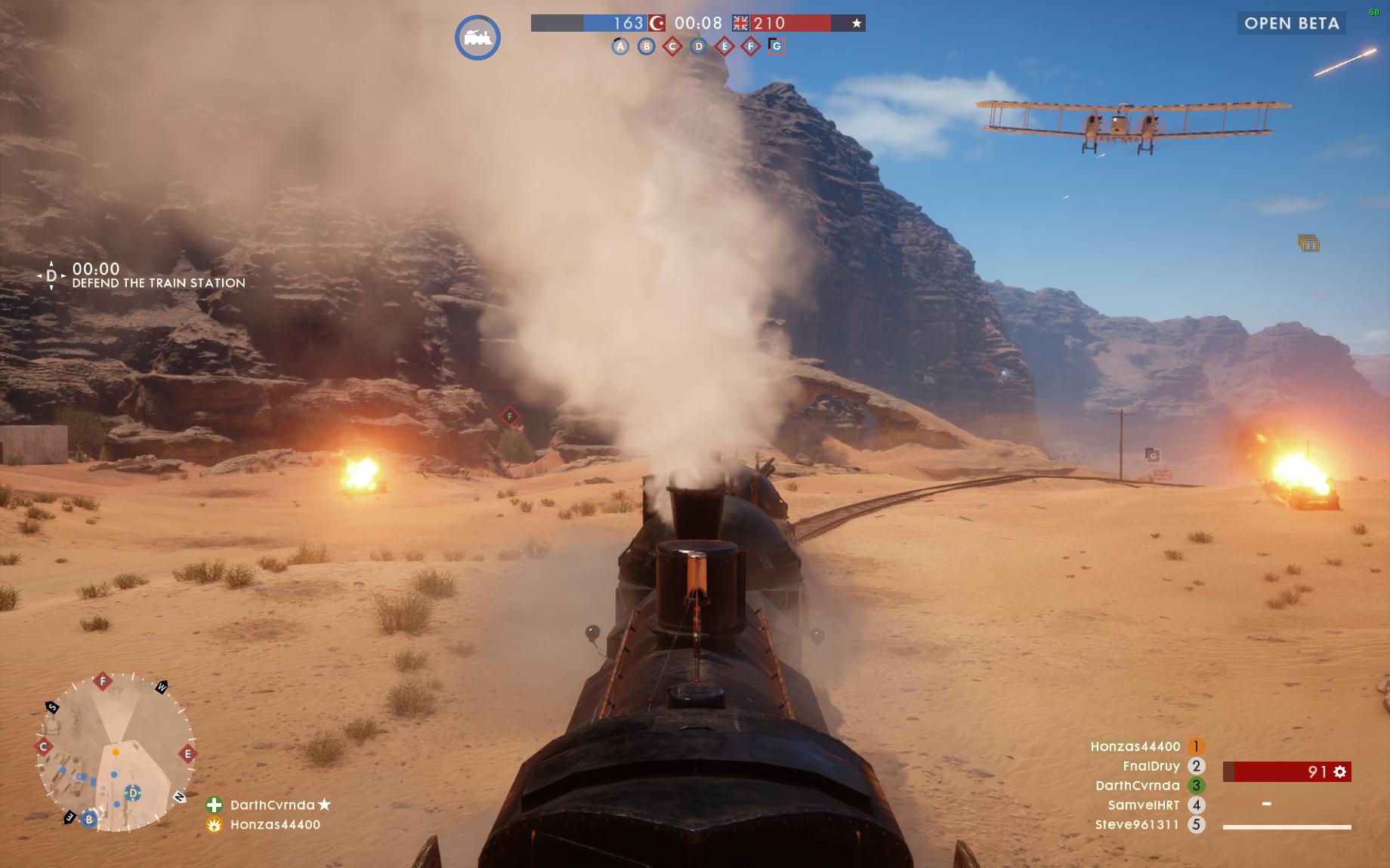 Dojmy z hraní otevřené bety Battlefield 1 129850