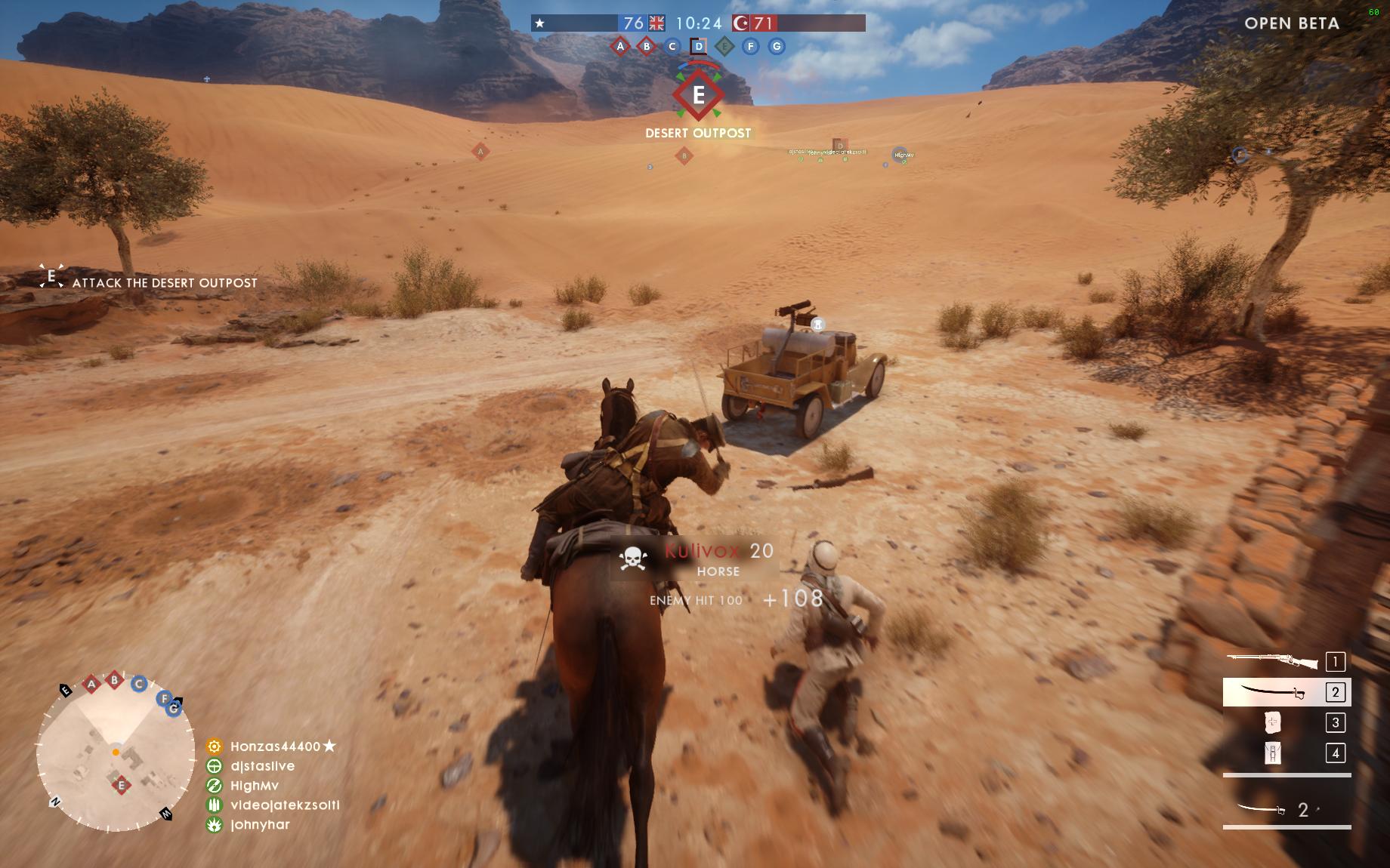 Dojmy z hraní otevřené bety Battlefield 1 129852