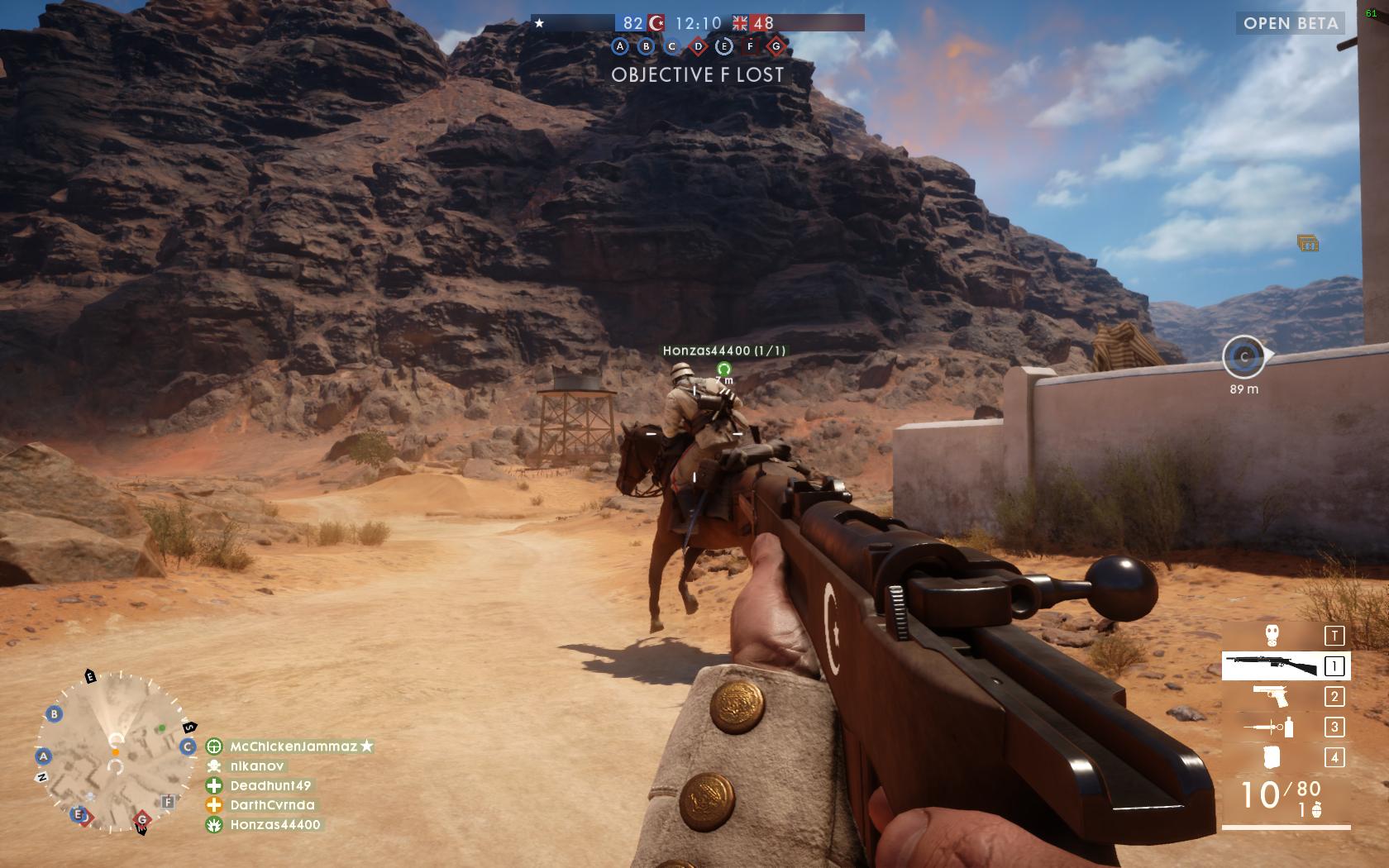 Dojmy z hraní otevřené bety Battlefield 1 129859
