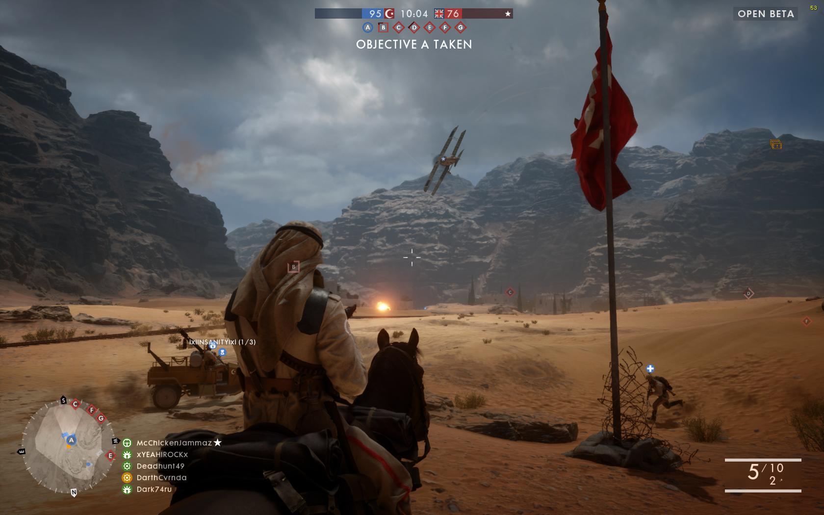 Dojmy z hraní otevřené bety Battlefield 1 129860