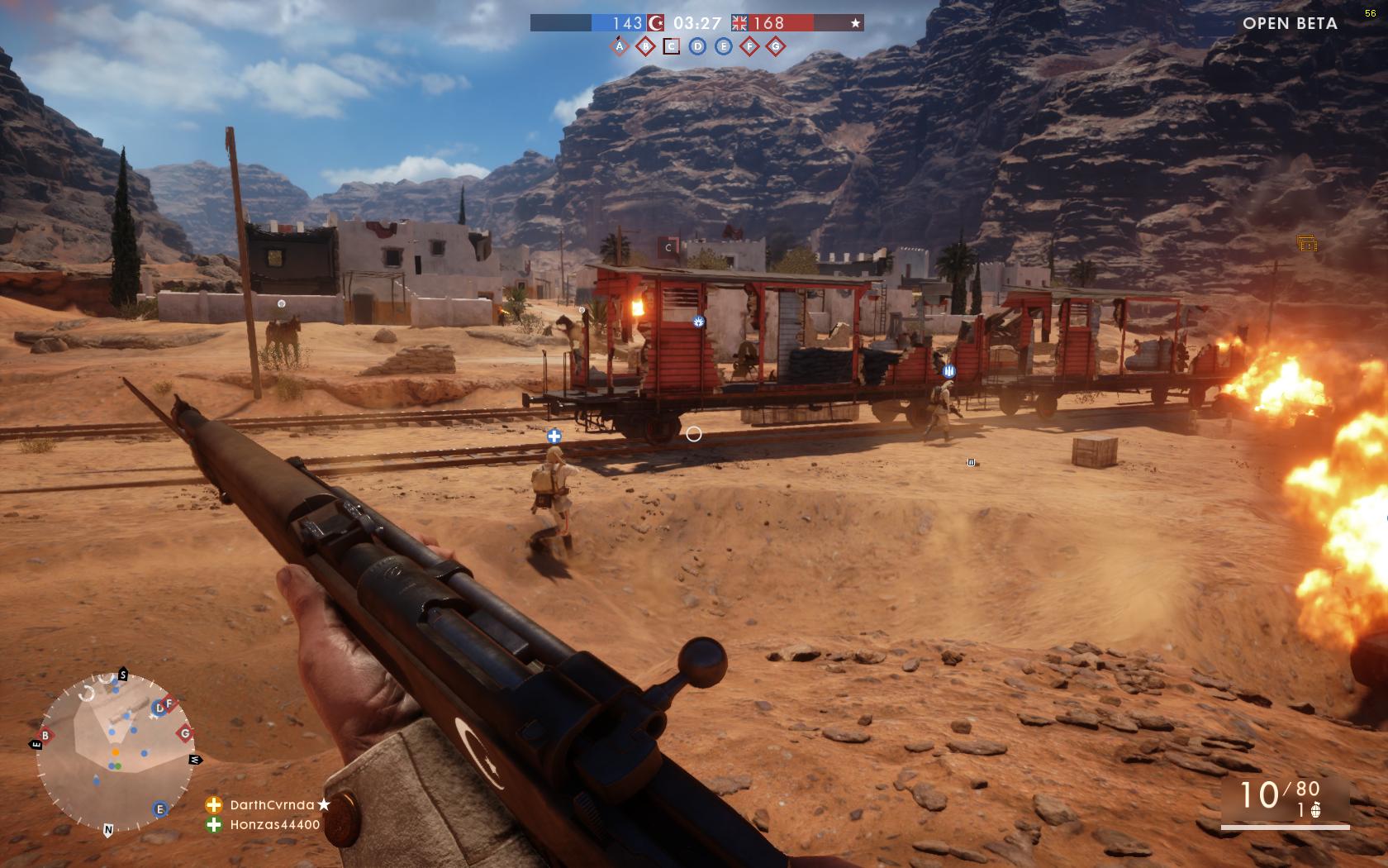 Dojmy z hraní otevřené bety Battlefield 1 129862
