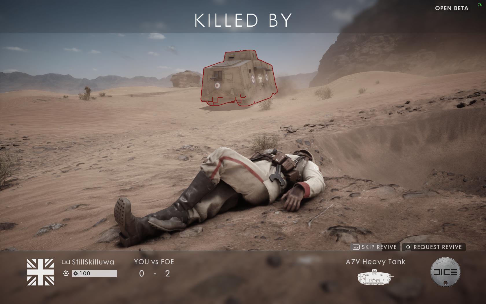 Dojmy z hraní otevřené bety Battlefield 1 129863